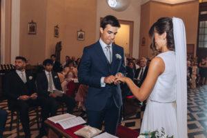 scambio delle fedi matrimonio Varese