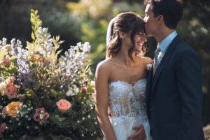 le foto agli sposi durante il matrimonio al Mulino Dell'Olio di varese