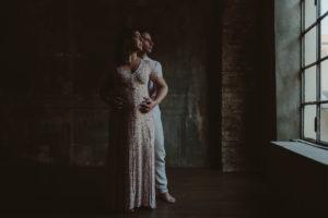 foto maternità in studio milano