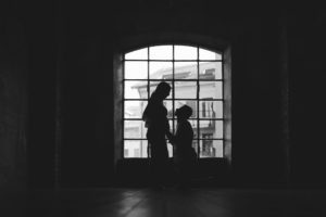 Servizio fotografico di maternità a Milano presso studio fotografico