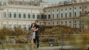 sessione di coppia alla villa reale di Monza