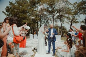 matrimonio monique e marcello presso il n'uovo agriturismo